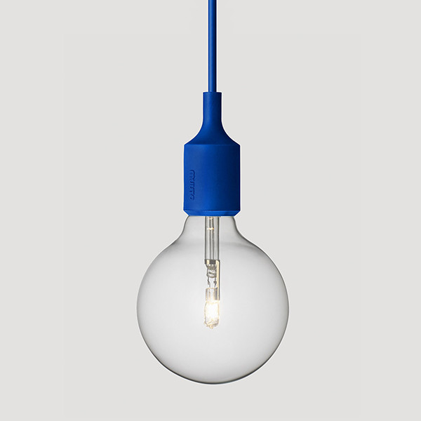 Muuto, E27 Lamp, Blue