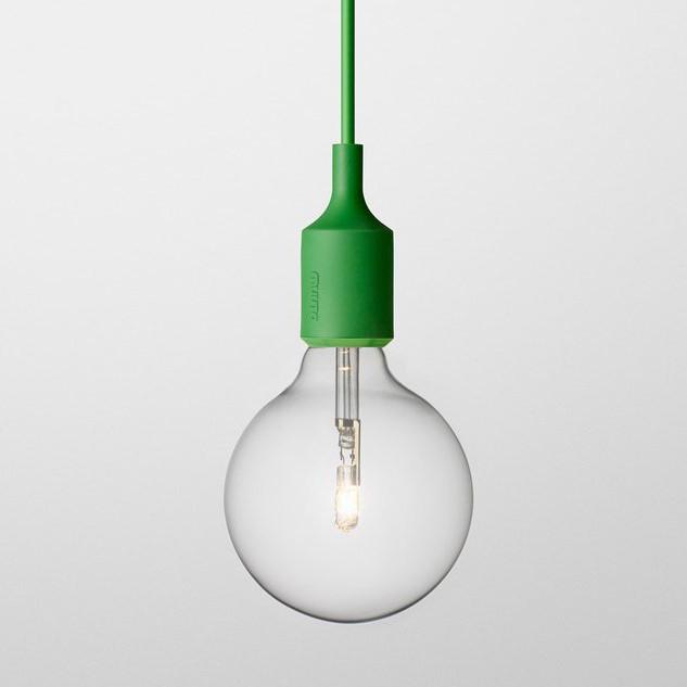 Muuto, E27 Lamp, Green